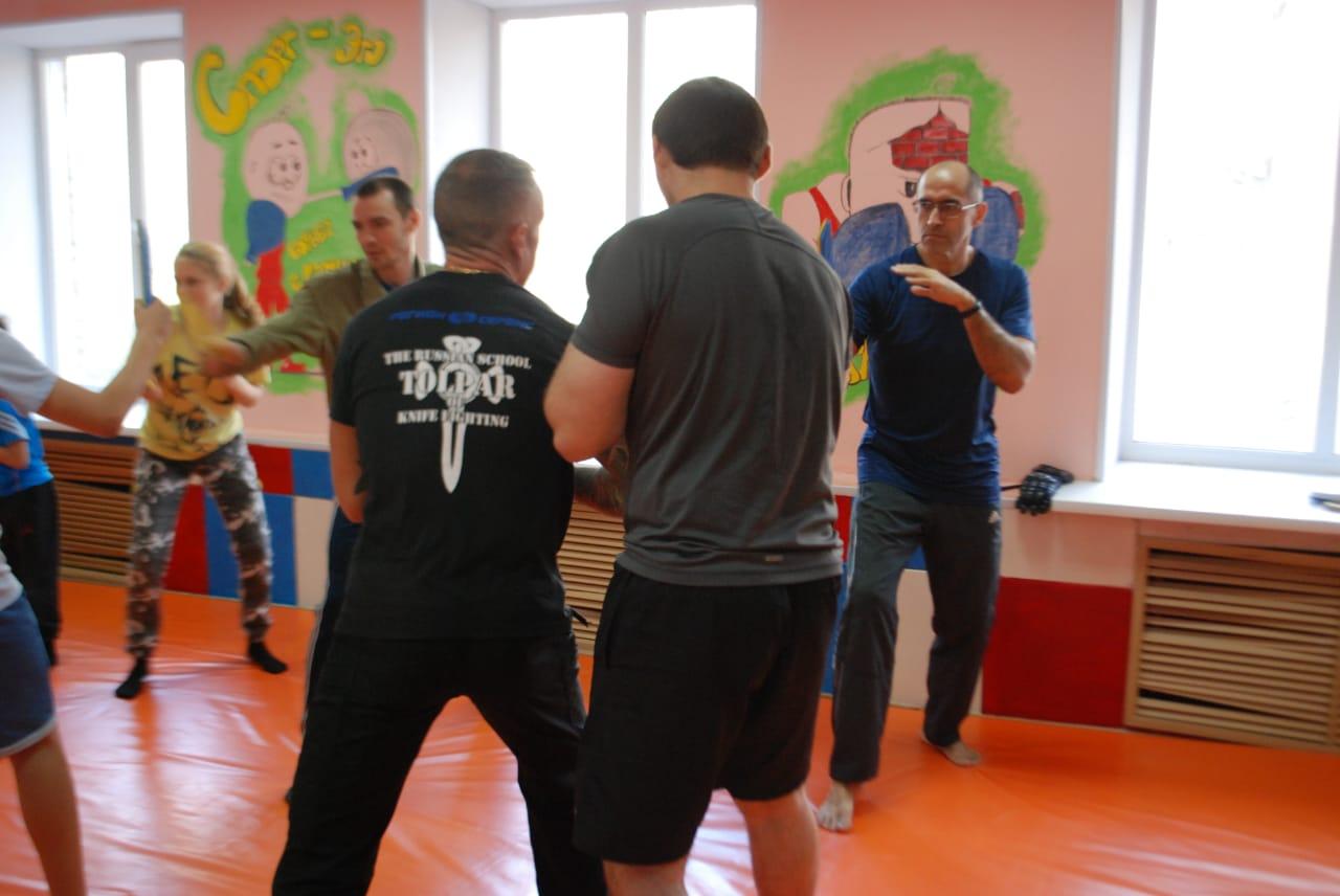 Исскуство владением коротким ножом семинар в Кемерово